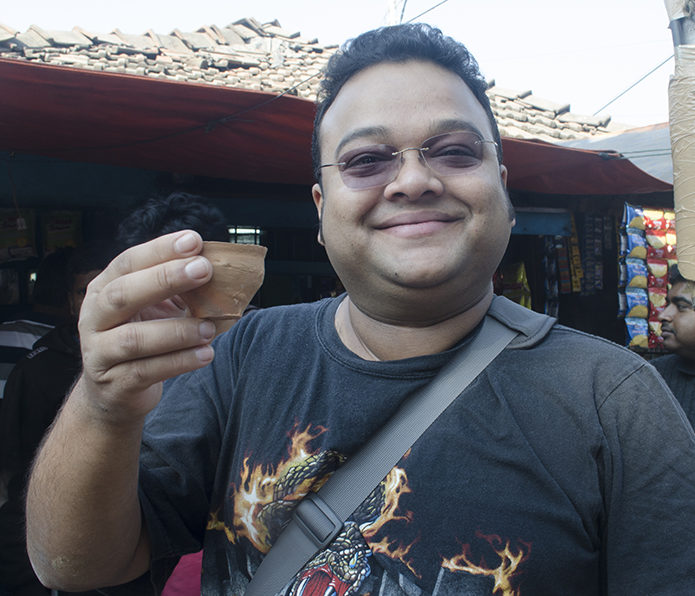 Kolkata tea break, by Rangan Datta