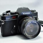 Konica TC SLR camera