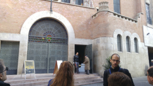 Norbert tells about the Kazinczy Street Orthodox Synagogue
