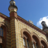 Rumbach St. Synagogue upper part of building
