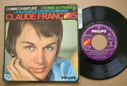 Claude François record & cover
