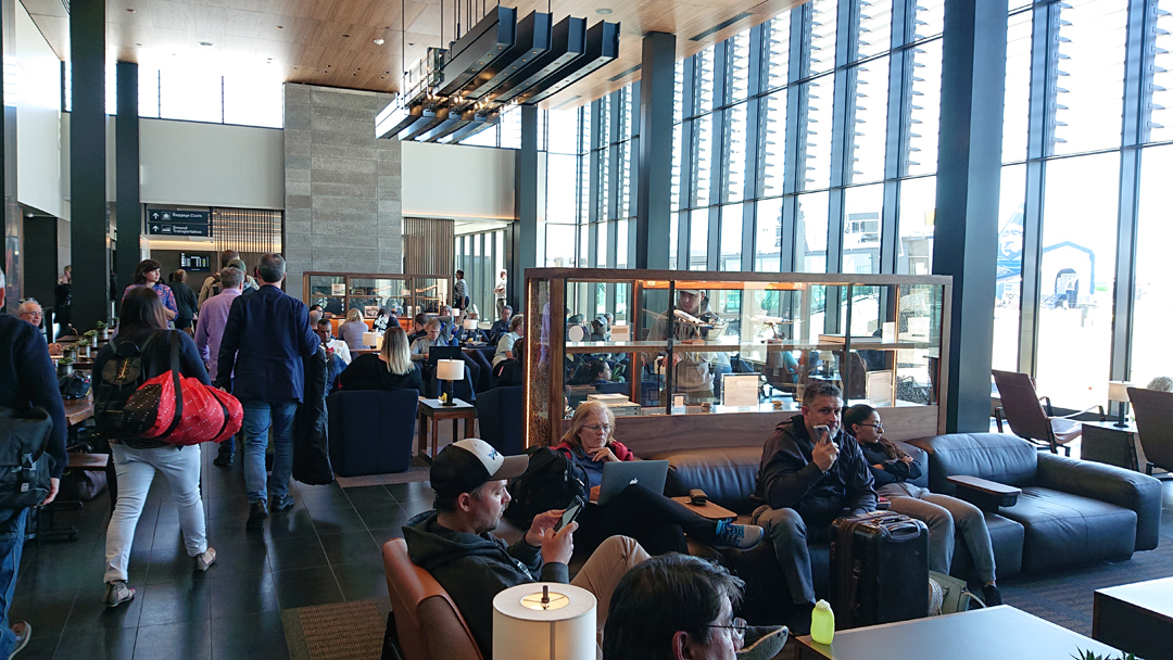view of the lounge at PAE