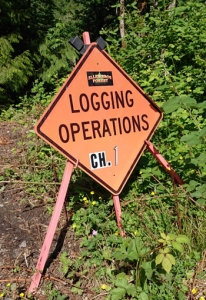 logging operations sign