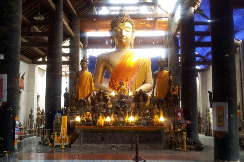 Buddha statue in Luang Prabang, Laos