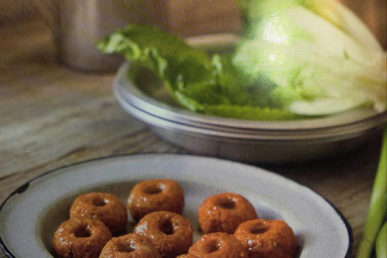Turkish spiced red lentil kofte