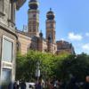 Dohány St. Synagogue street view
